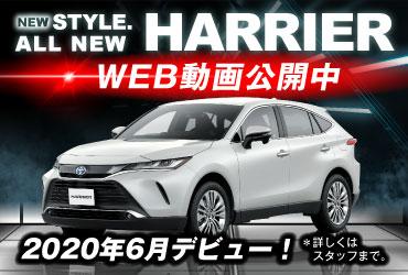 【確定】新型ハリアー固定バナー