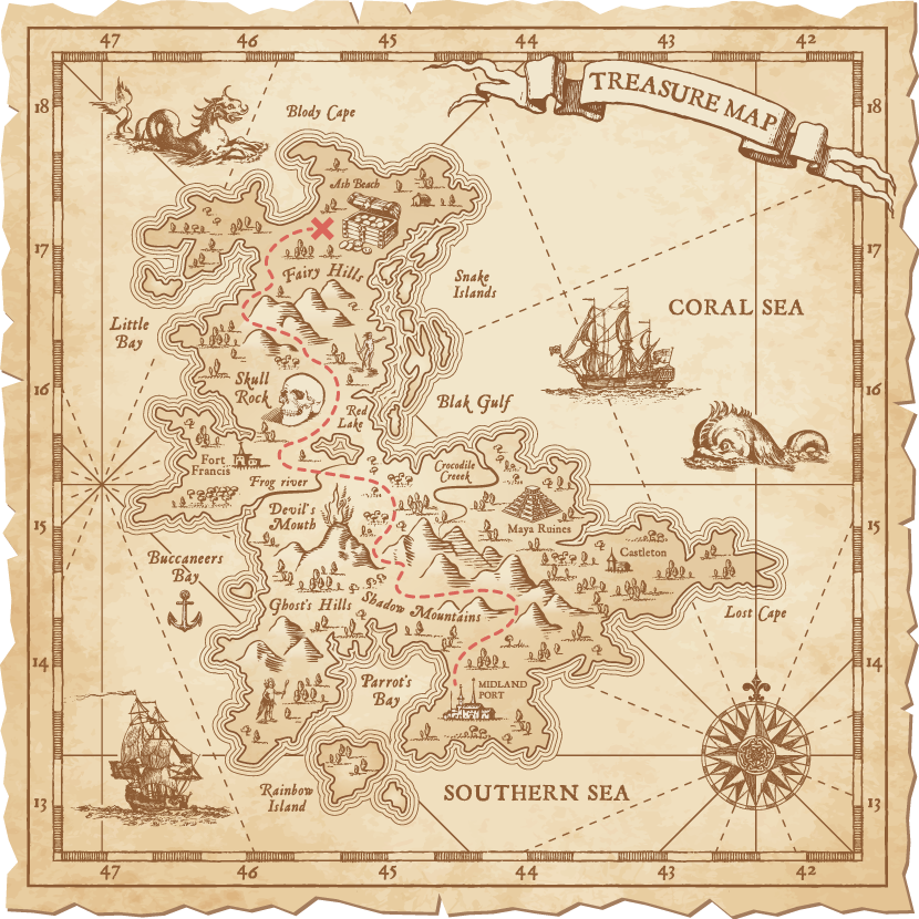 treasure-map