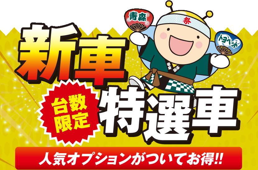 台数限定 新車特選車 人気オプションがついてお得!!